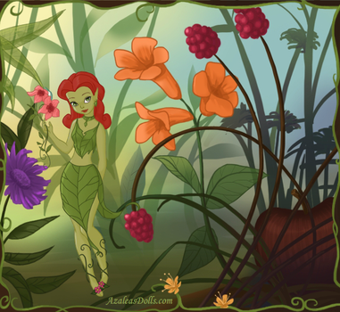 Disney Fairy Poison Ivy by Page-Mistress