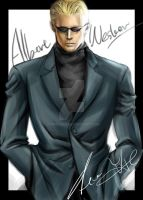 Albert Wesker 3 by xiaofeihui