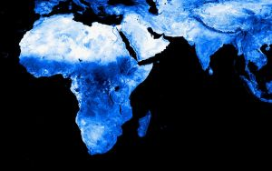 Africa and some of Asia by k33l0r