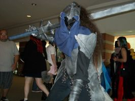 Artorias cosplay at Jafax. (ME) 3 by Lycanis2012