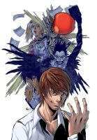 Death Note Remake by MarcelPerez