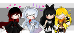 RWBY by Fishinggurl