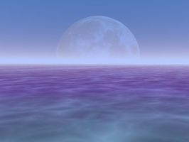 Stock Background - MoonSetting by Stock-by-Kai