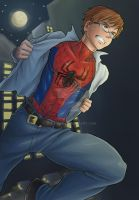 Peter Parker - Mondoart by nursury0