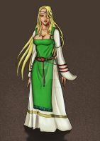 Character study - Freyia color by Siegfried40000