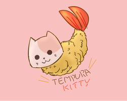 Tempura Kitty by SamaiMurai