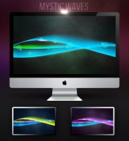 MYSTIC WAVES Wallpaper Pack by redrum201