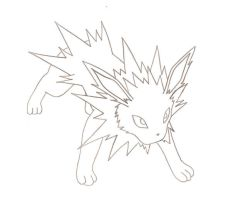 Jolteon by RuneDragonc