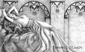 A Sleeping Beauty by TempestErika