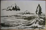 Seascape Sketch by Callego