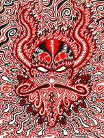 Infernal Meditation by sweetlygrotesque
