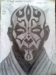 Darth Maul is crying by Denisaiko
