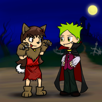 Jemma and Stump Halloween by Zerochan923600