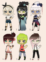 Adoptables (sushi) #4 CLOSED by Siraviena