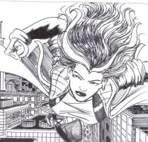 Rogue Wolverine Commission by MichaelPowellArt