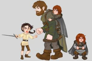 Some more Starks by CourtneyTrowbridge