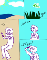Jose and Psiche: Renuion? Page 1 by WiltingDaisy