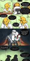 [UNDERTALE SPOILERS] Good intentions by zarla