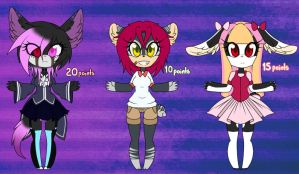 5# Adoptables  by Gaby-Kagamine-cat