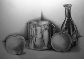 Still Life Study by taintedfeather