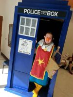 Medli in the Tardis?! by maxst5011