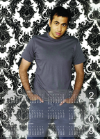 Calendar with Kutner by housemd-pl