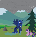 Luna and Twilight. by Rusilis