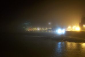 Aberystwyth at Night - No. 2 by bisi