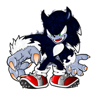 Sonic The Werehog by SSBRalian