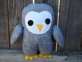little barn owl plush by Telahmarie