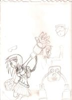 Unnamed Character Designs 3 by InkySketch