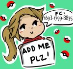 Pokemon X/Y - Friend Code~ by pumkinpie3