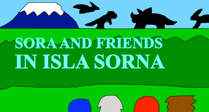 Sora and Friends in Isla Sorna by jacobyel
