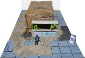 Bob's Iguana Bits - A Fallout Diorama by SarienSpiderDroid