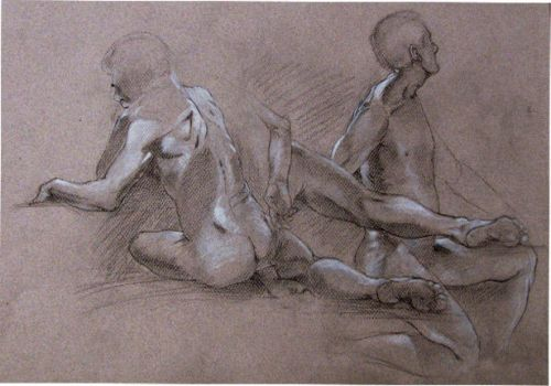 Charcoal drawing by p-garcia-2