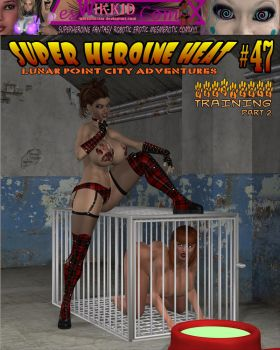 Super Heroine Heat Issue 47 Cover by WikkidLester