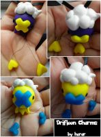 Drifloon Charms by SmileAndLead