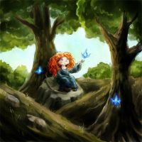 Little Merida by Neesha