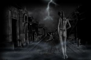 Angel of the Night by Surrealart1702