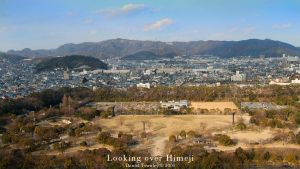 looking over Himeji by dtownley1