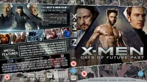 X-Men Days of Future Past Blu-ray by MrPacinoHead
