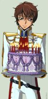 Happy Birthday from Suzaku by Xaite
