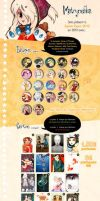 Japan EXPO 2012 - MATRYOSHKA's Products list by Rozenng