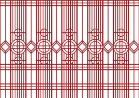 Janpanese door Pattern by Estheryu