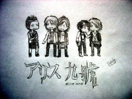 Alice nine by Narumaru