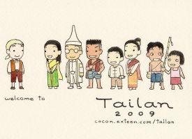 Tailan postcard 2009 2 by cocon