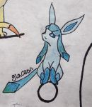 Glaceon by FadingToDarkness