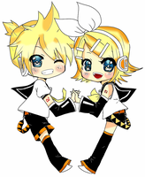 rin and len ~chan~! by luna3678