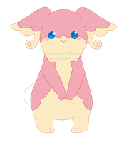 Audino - art request by acquiesce9four