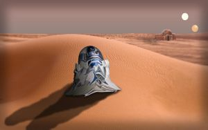 Hot On Tatooine by PeterPawn